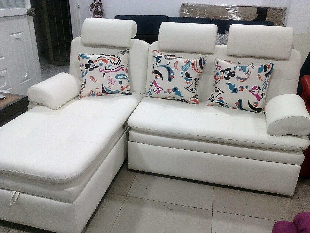 Muebles Elite, Sala Funcional En L, Con Baúl Y Sofá Cama. - $ 1.900 ...