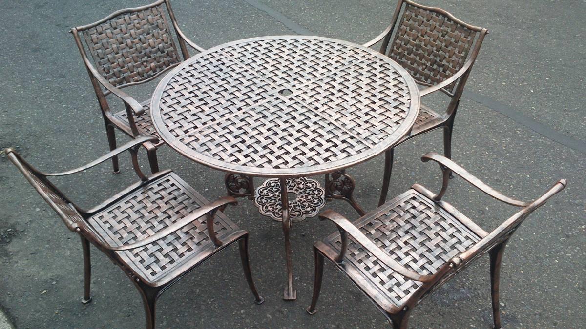 Muebles en aluminio para exterior no oxidan for Muebles de exterior aluminio
