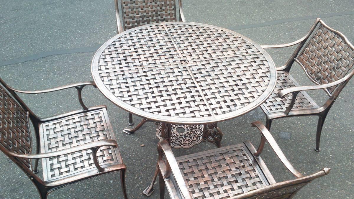 Muebles en aluminio para exterior no oxidan for Muebles de jardin para exterior