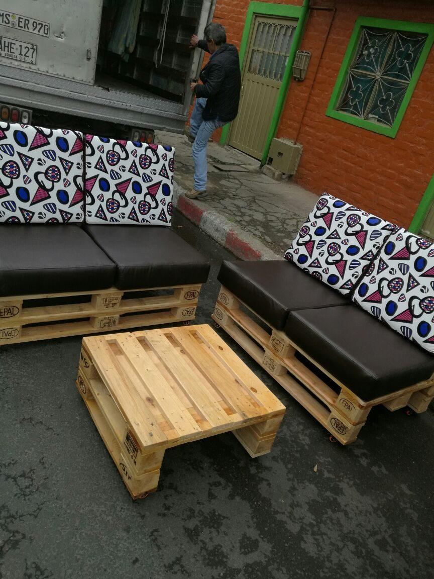 Muebles en estibas en mercado libre Muebles hechos con estibas