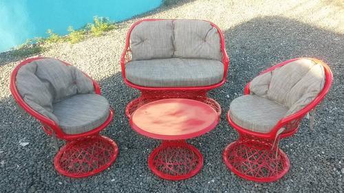 muebles  en fibra de vidrio