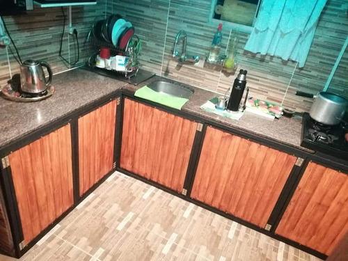 muebles en hierro y madera