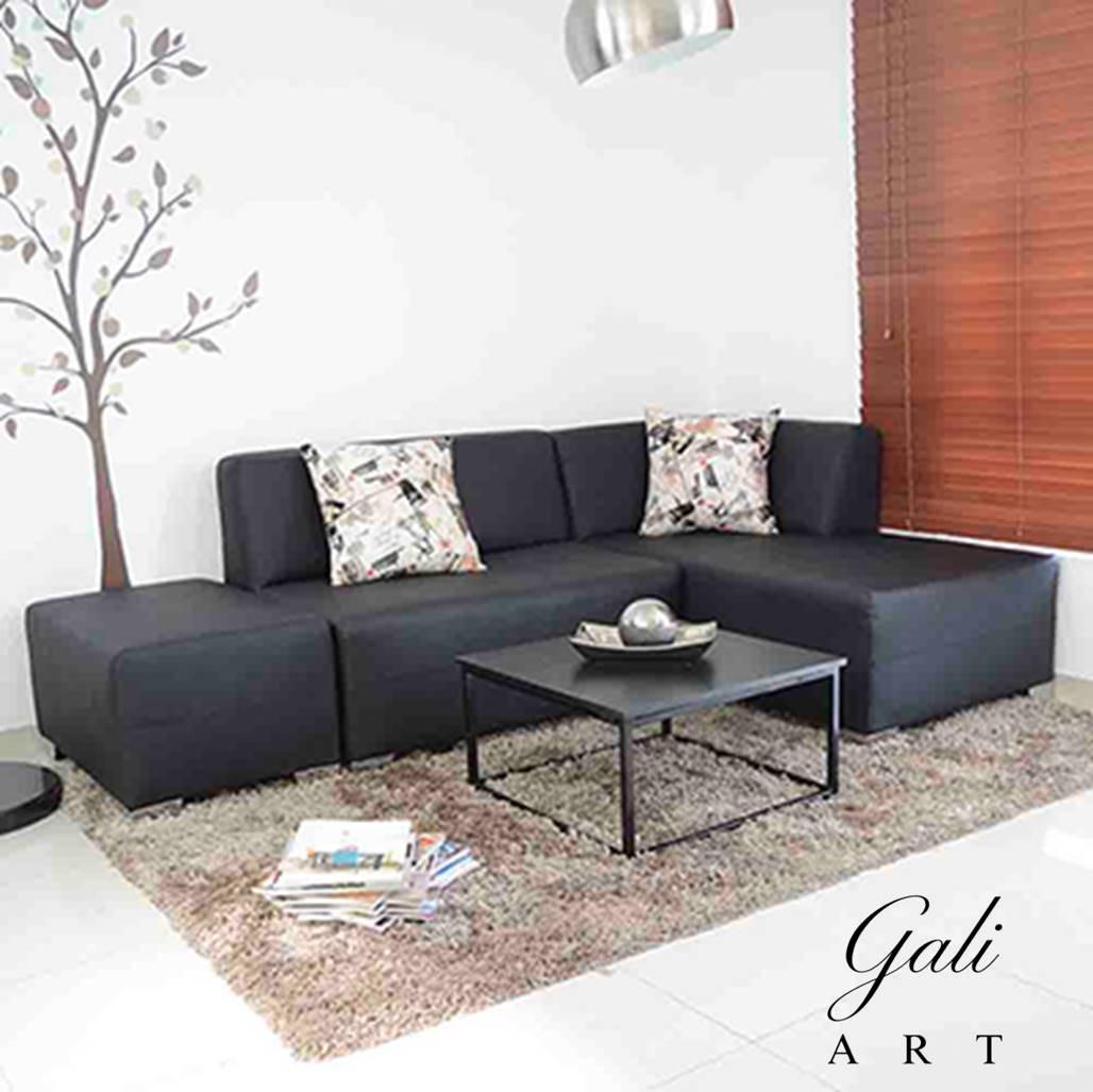 Muebles en l para sala librer as hogar recepciones u for Muebles en l