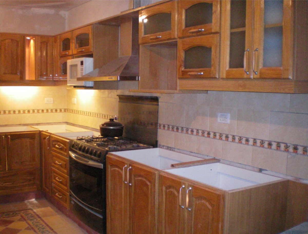 Muebles En Madera / Bajo Mesada / Alacena / Amoblamietos - $ 450,00 ...