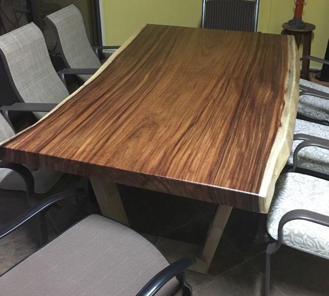 Muebles en madera natural rustica en mercado for Muebles madera natural