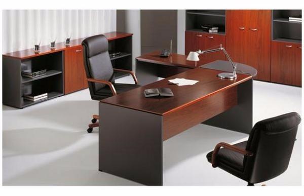 Muebles en melamina para oficinas y residenciales s 850 for Escritorios de oficina lima