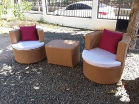 Muebles En Mimbre Sintético Muebles De Terraza Y Exterior