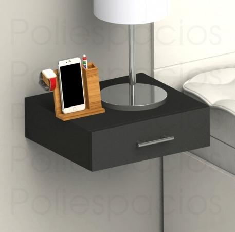 Muebles escritorio velador mesa de noche flotante s - Patas para mesitas de noche ...