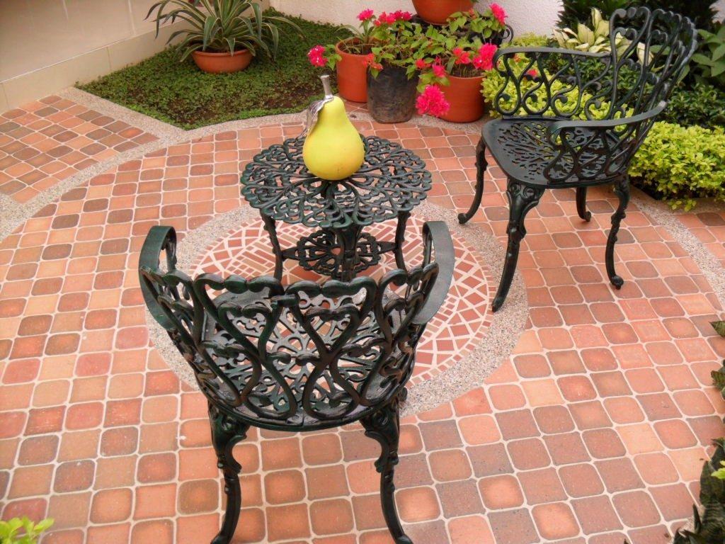Muebles 2sillas y mesa auxiliar para exterior jardin for Muebles jardin exterior