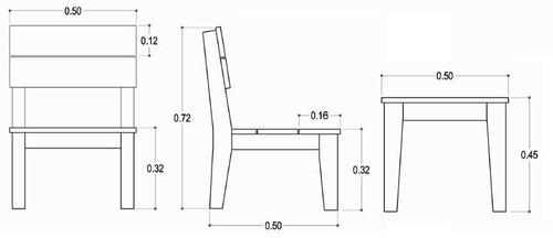 muebles exterior madera
