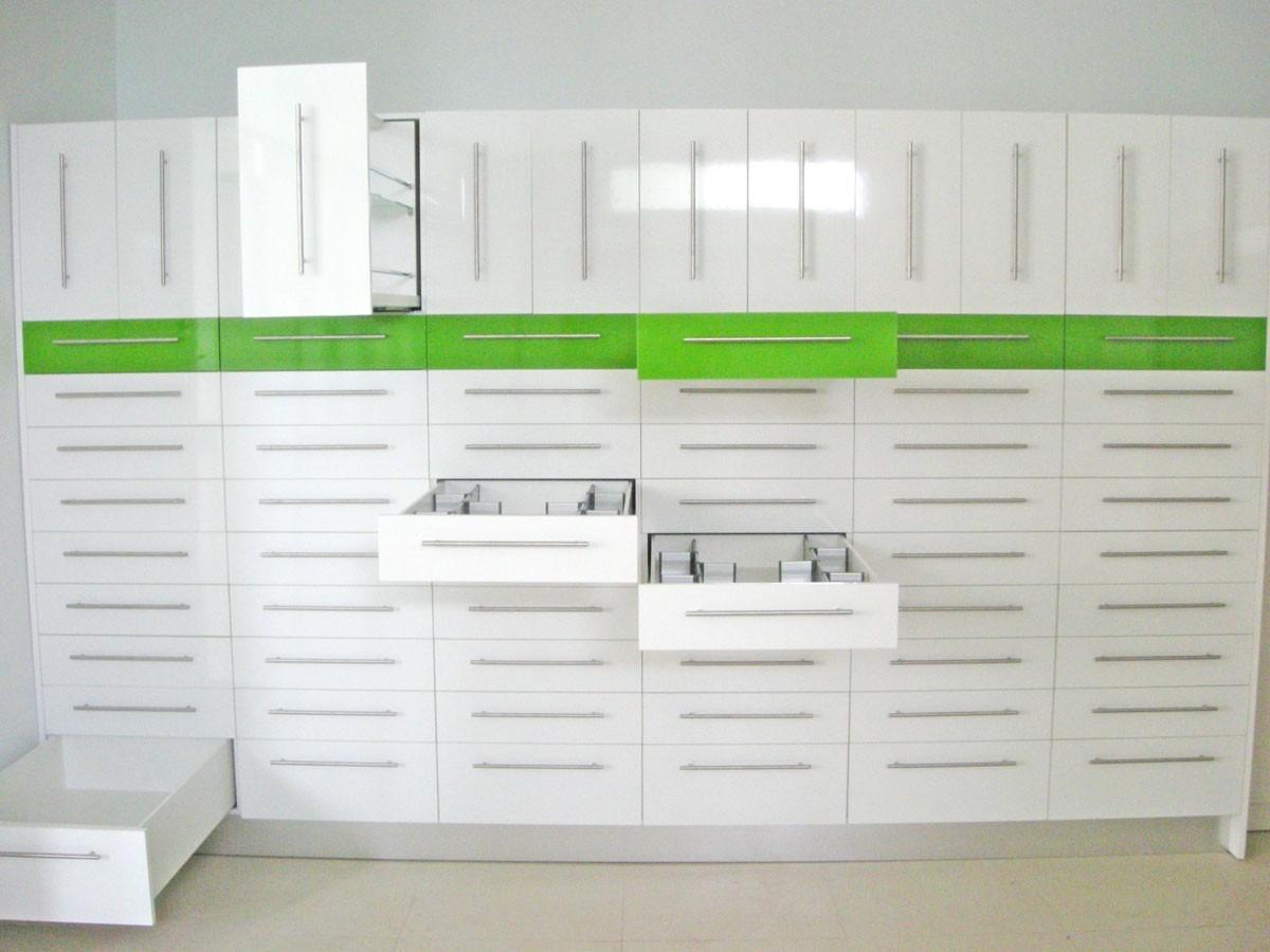 Muebles Funcionales Para Farmacia Laboratorio Clinico 5 000 En  # Muebles Funcionales