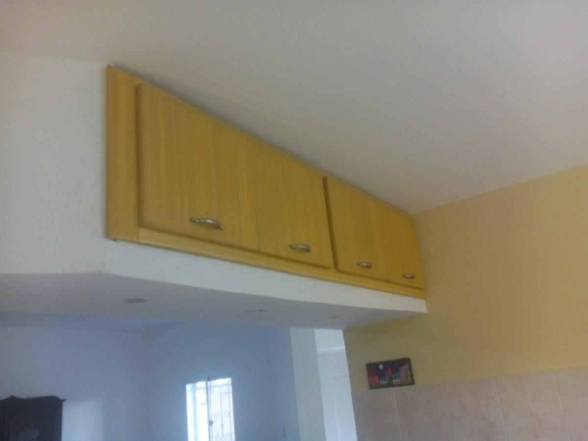 muebles gabinetes areos para cocina por metro lineal