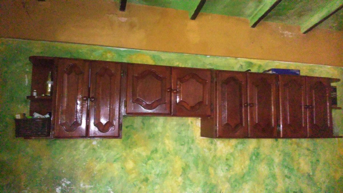 Muebles, Gabinetes, Cocina Empotrada De Madera Excelente  Bs 145000