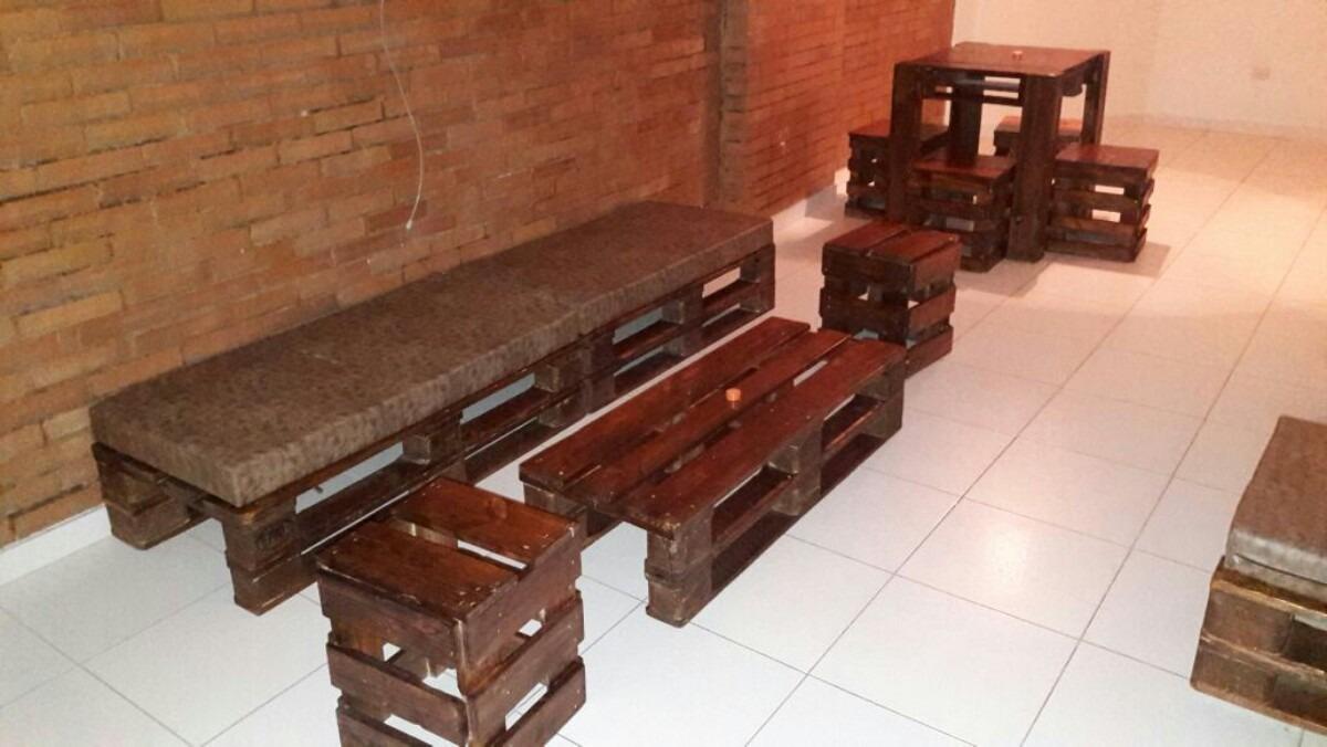 Muebles hechos con estibas o palets en mercado libre for Muebles hechos con melamina