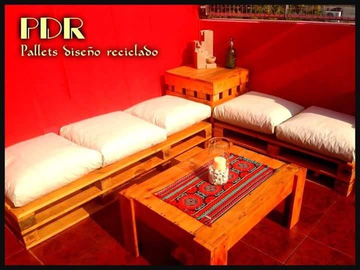 Muebles Hechos Con Palets Reciclados - $ 450,00 en Mercado Libre