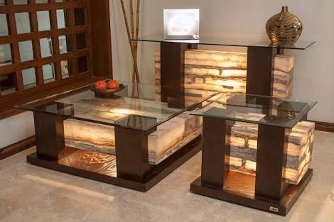 Juego de muebles hogar sala onix madera minimalista 49500 for Precios de muebles para el hogar