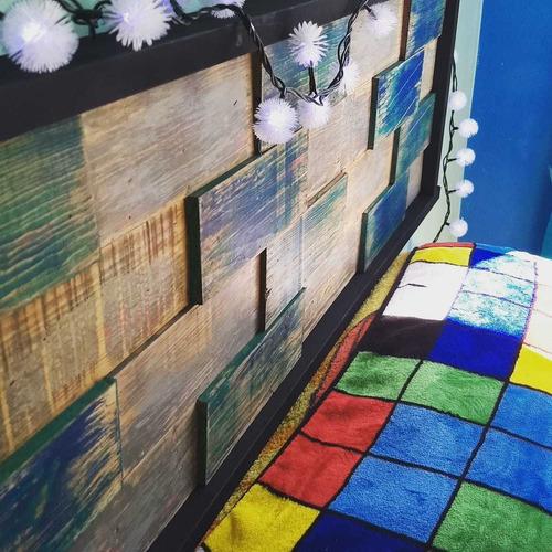muebles industriales, decoración herrería y madera