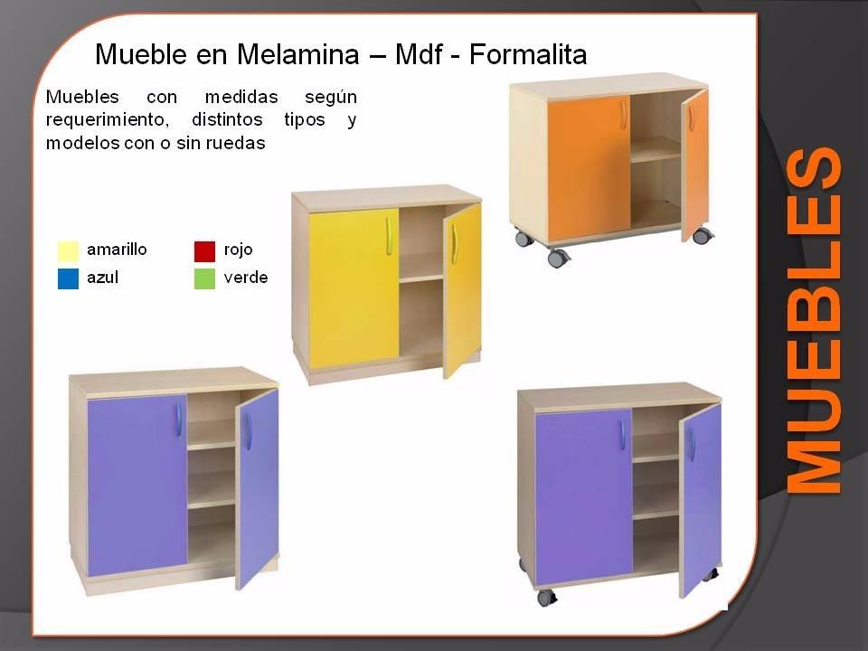 Muebles Infantiles De Madera Preescolar Sillas - Libreros - $ 1 en ...