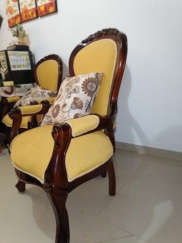 muebles isabelinas en cedro
