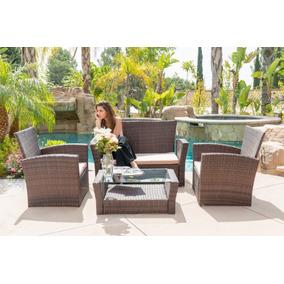 b054323e Jardin Exterior Muebles Juegos Juego De Sofas Para - Jardín y ExteriorTodo  para en Mercado Libre México