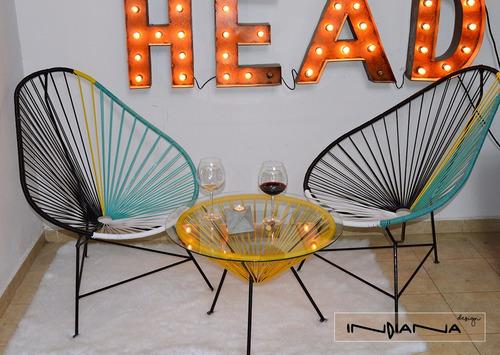 muebles jardin sillas