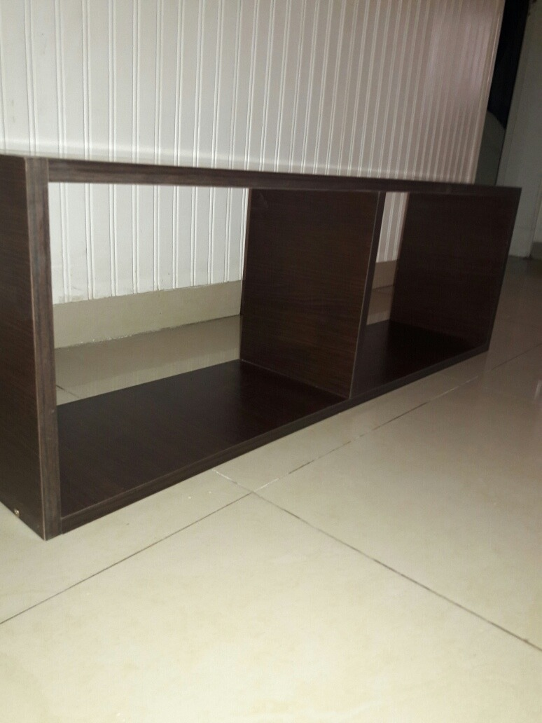 Muebles Kevin Cubo Rectangulo En Melamina Wengue Promo 200  # Muebles Banfield