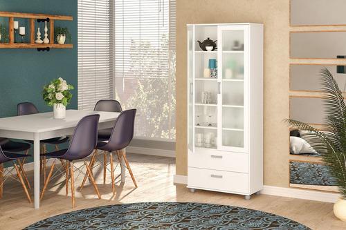 muebles mbs estanteria puerta vidrio cajones mobelstore