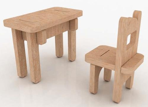 Muebles Miniatura Casa De Muñecas Mdf Kit Gmcm022 -  130.00 en ...