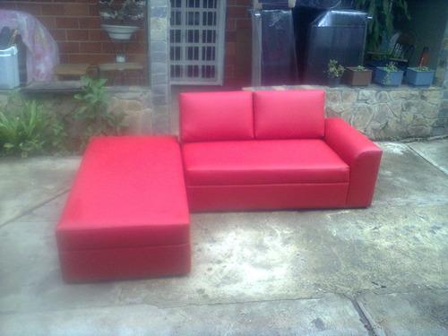 muebles modernos capri sofa camas puff cojines tela bipiel