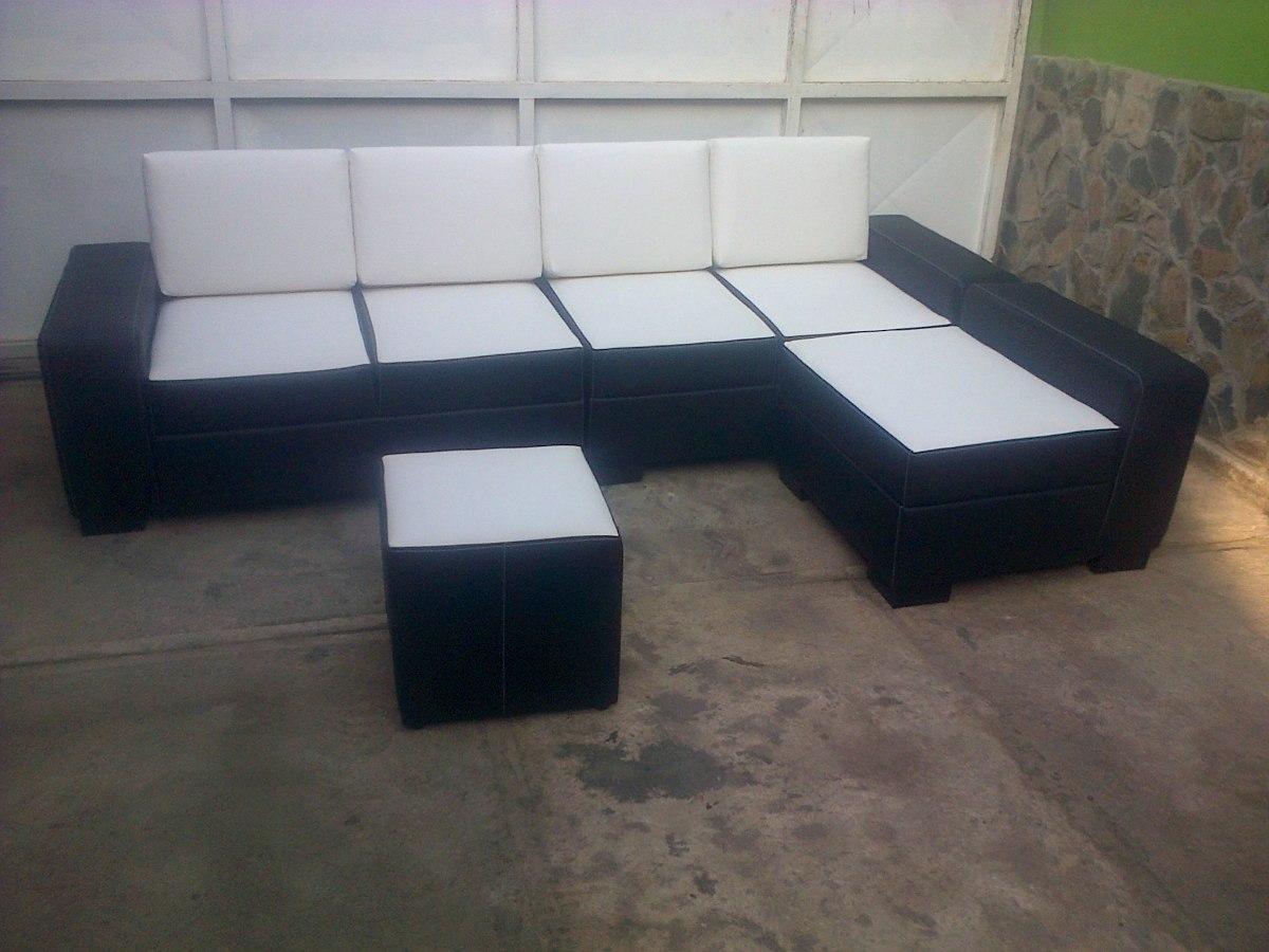 Muebles Modernos Capri Tela Bipiel Cojimes Mesas Puff Camas Bs  # Muebles En Bipiel Mercadolibre