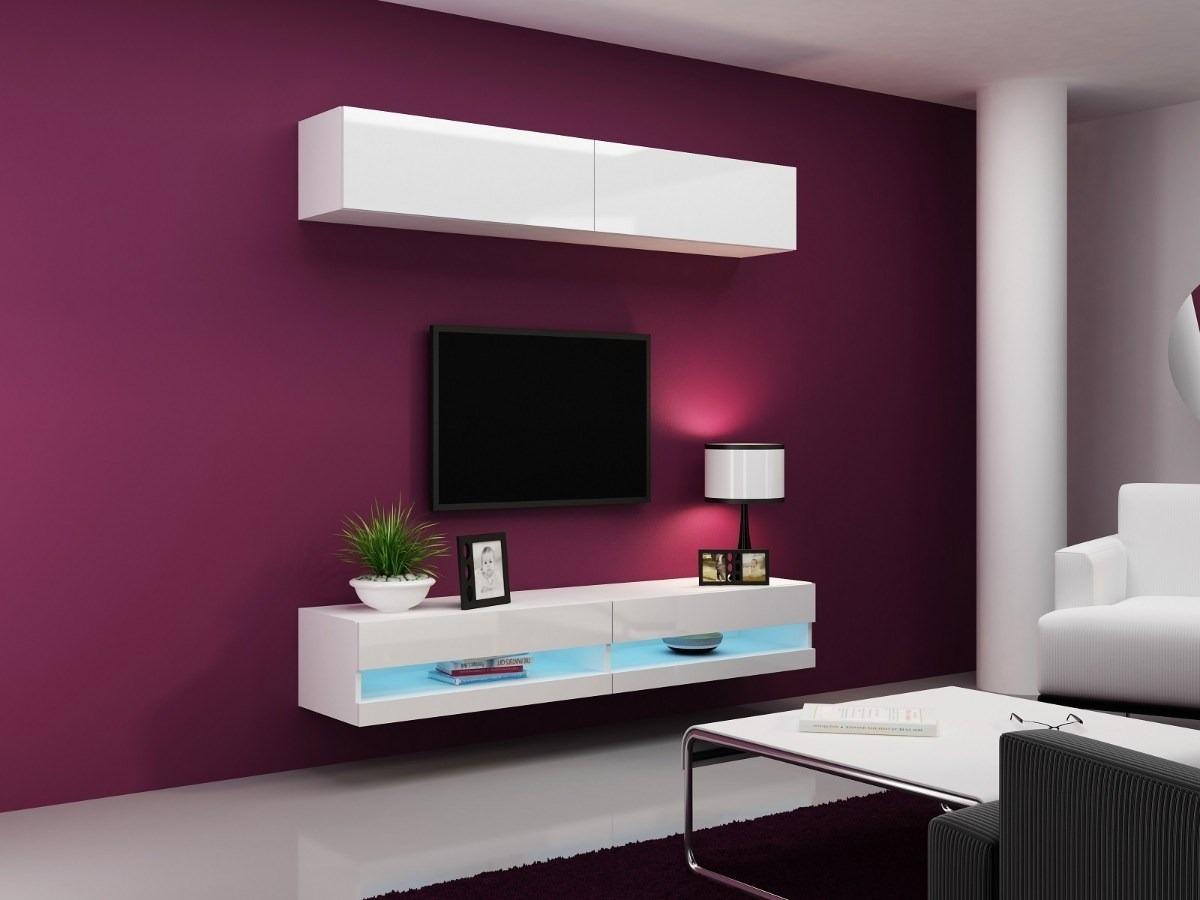 muebles modernos diseo rack lcd