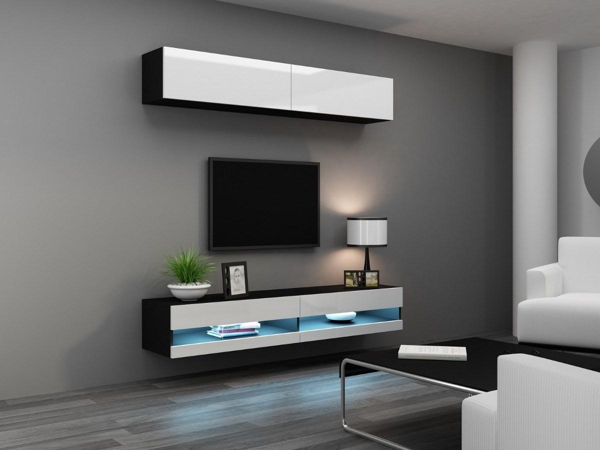 Muebles Modernos Dise O Rack Lcd 6 349 40 En Mercado Libre # Muebles Modernos