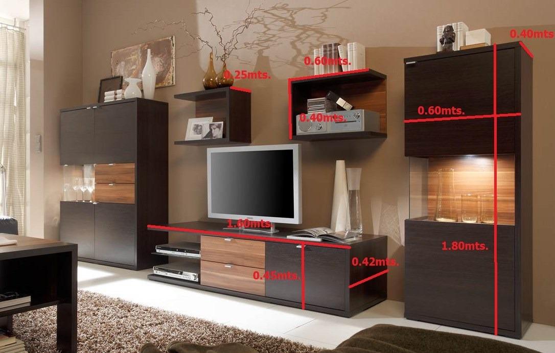 muebles modernos modular tv lcd