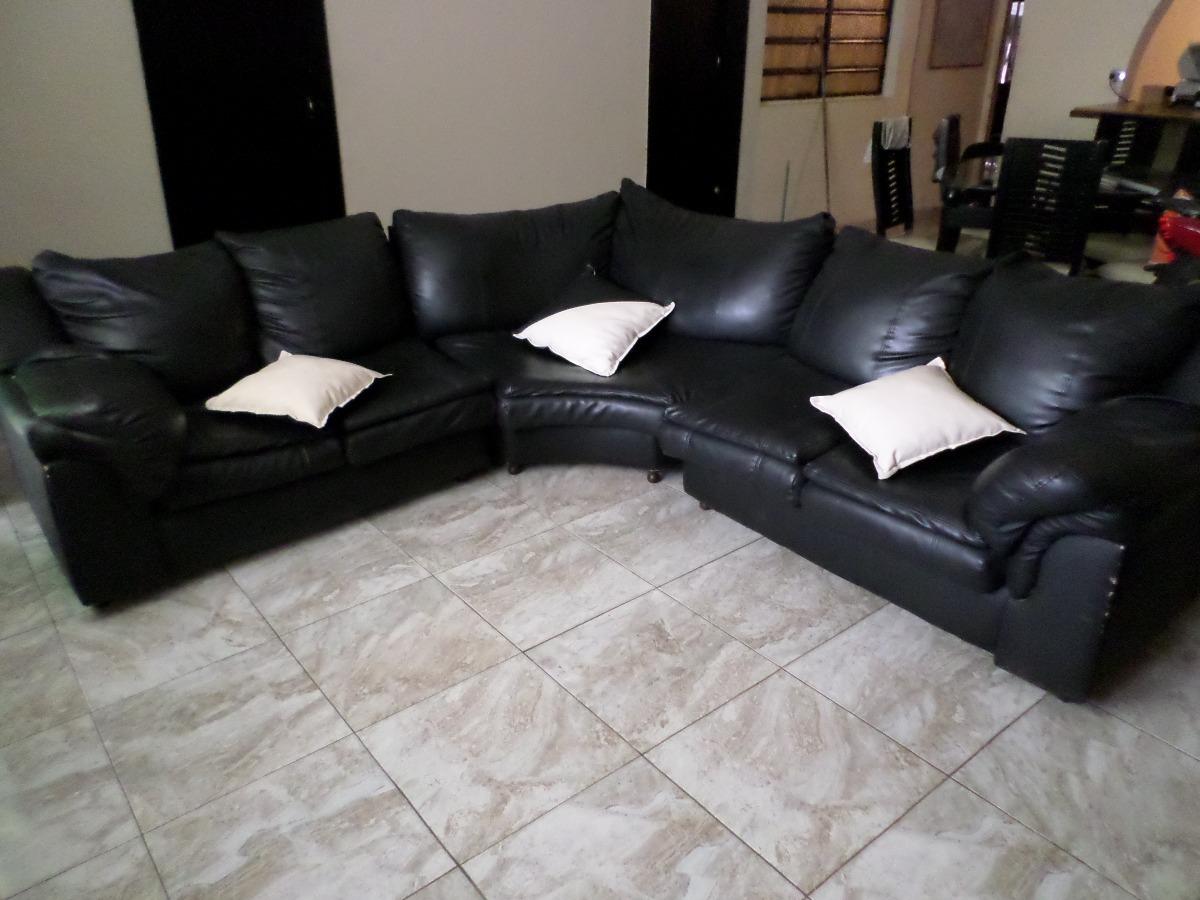 Muebles Modular Curvo S/cuero Negro 5 Mts - Bs. 880.000,00 en ...