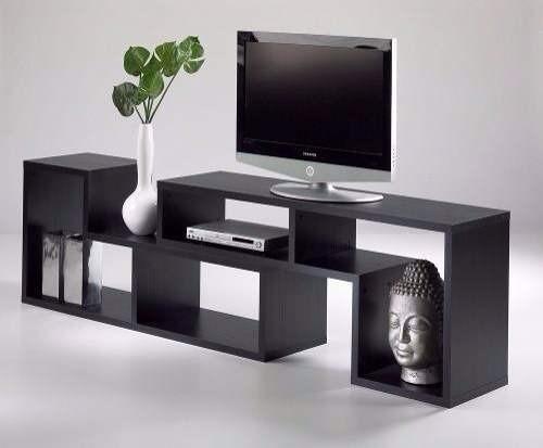 Muebles modulares para tv modernos tipo biblioteca bs 5 for Muebles modulares modernos