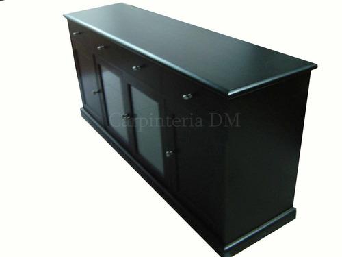 Muebles modulares vajillero comedor laqueado blanco    8.657,00 ...