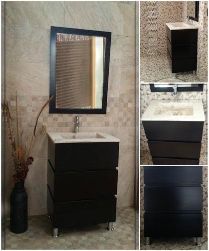Modernos muebles para ba o de marmol chocolate mdf - Tiempos modernos muebles ...