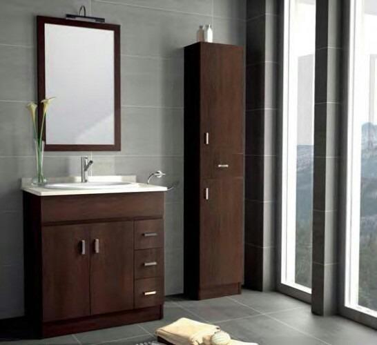 Muebles para ba o a medida en material de alta calidad for Muebles de bano a medida