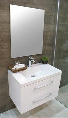 Muebles para ba os lavabo espejo lugo 75 castel 8 en mercado libre - Lavabos para muebles de bano ...