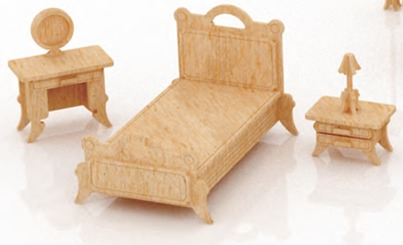 Muebles para barbie monster high en madera mdf set 1 for Muebles para barbie