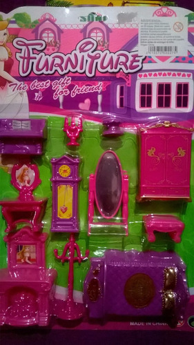 muebles para casitas de juguete