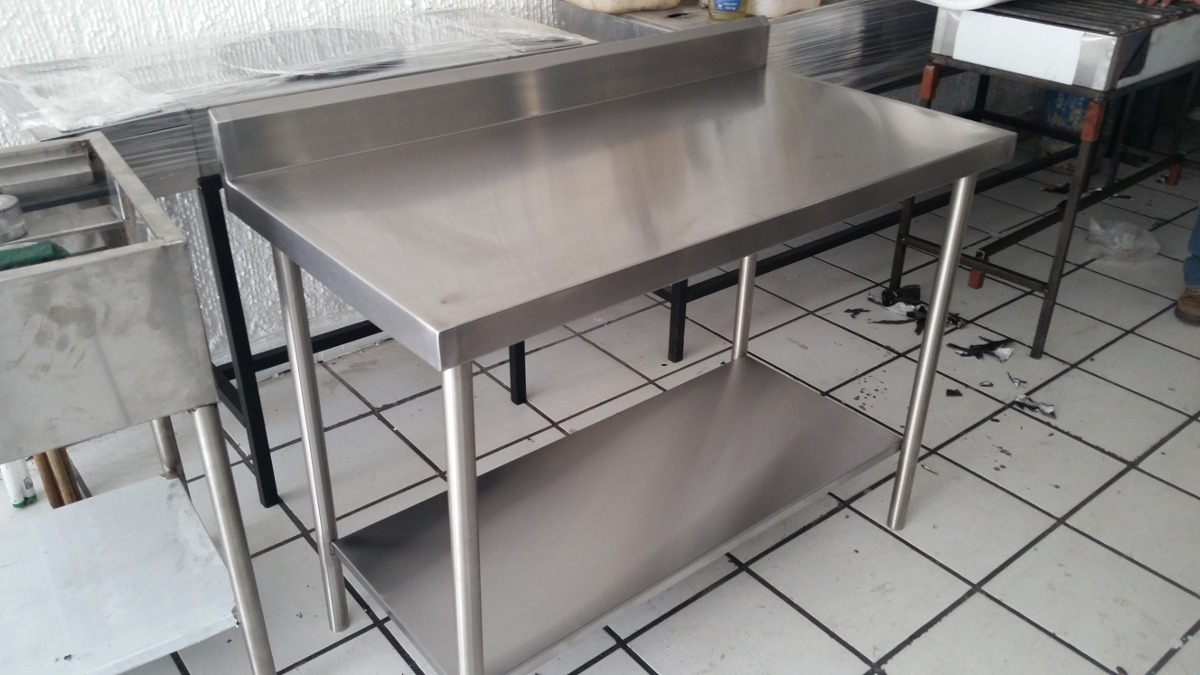Muebles Para Cocina En Acero Inoxidable - $ 100.00 en Mercado Libre