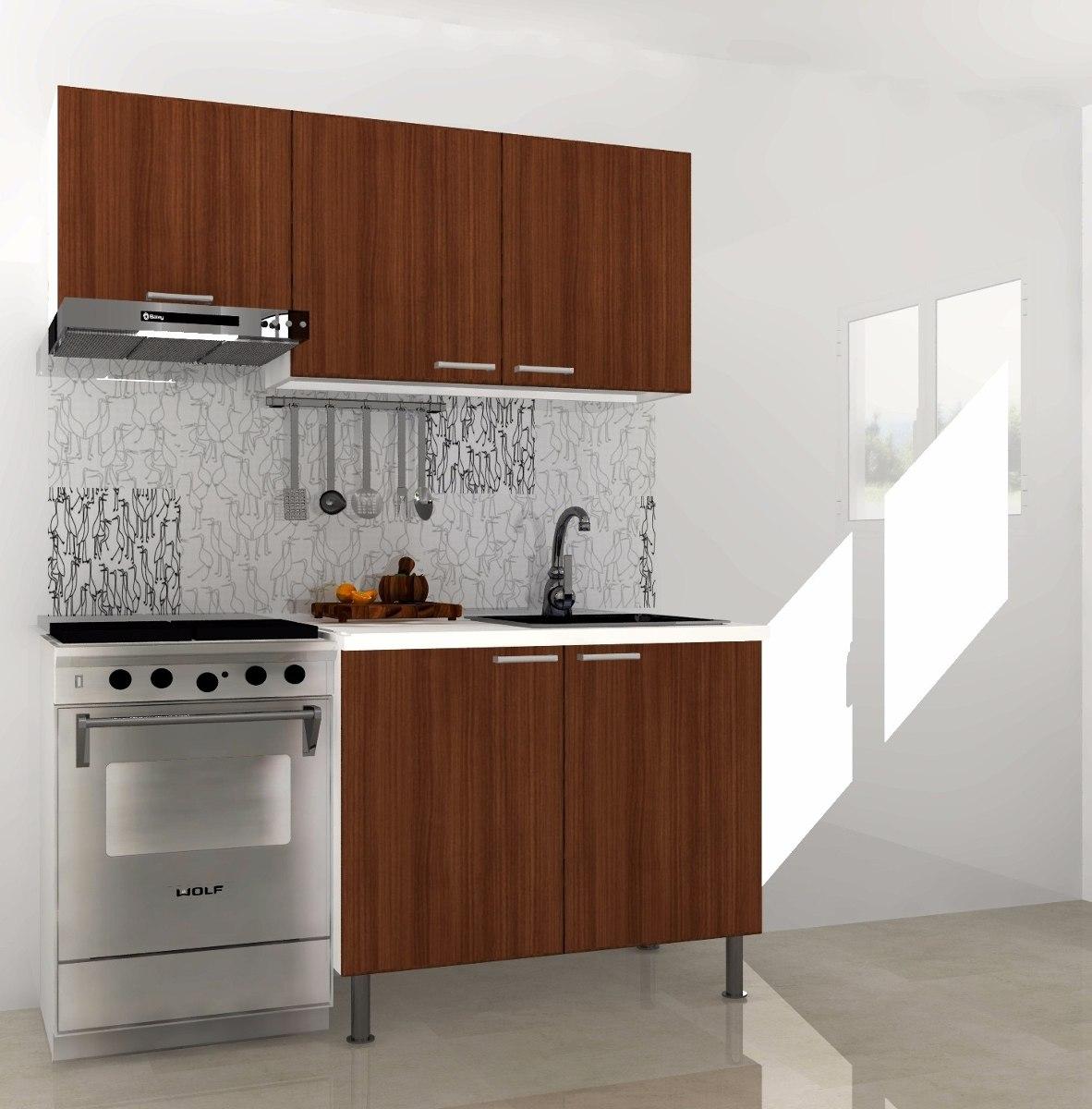 Muebles Para Cocina, Linea Económica, Gabinetes, Madera - Bs. 1.140 ...