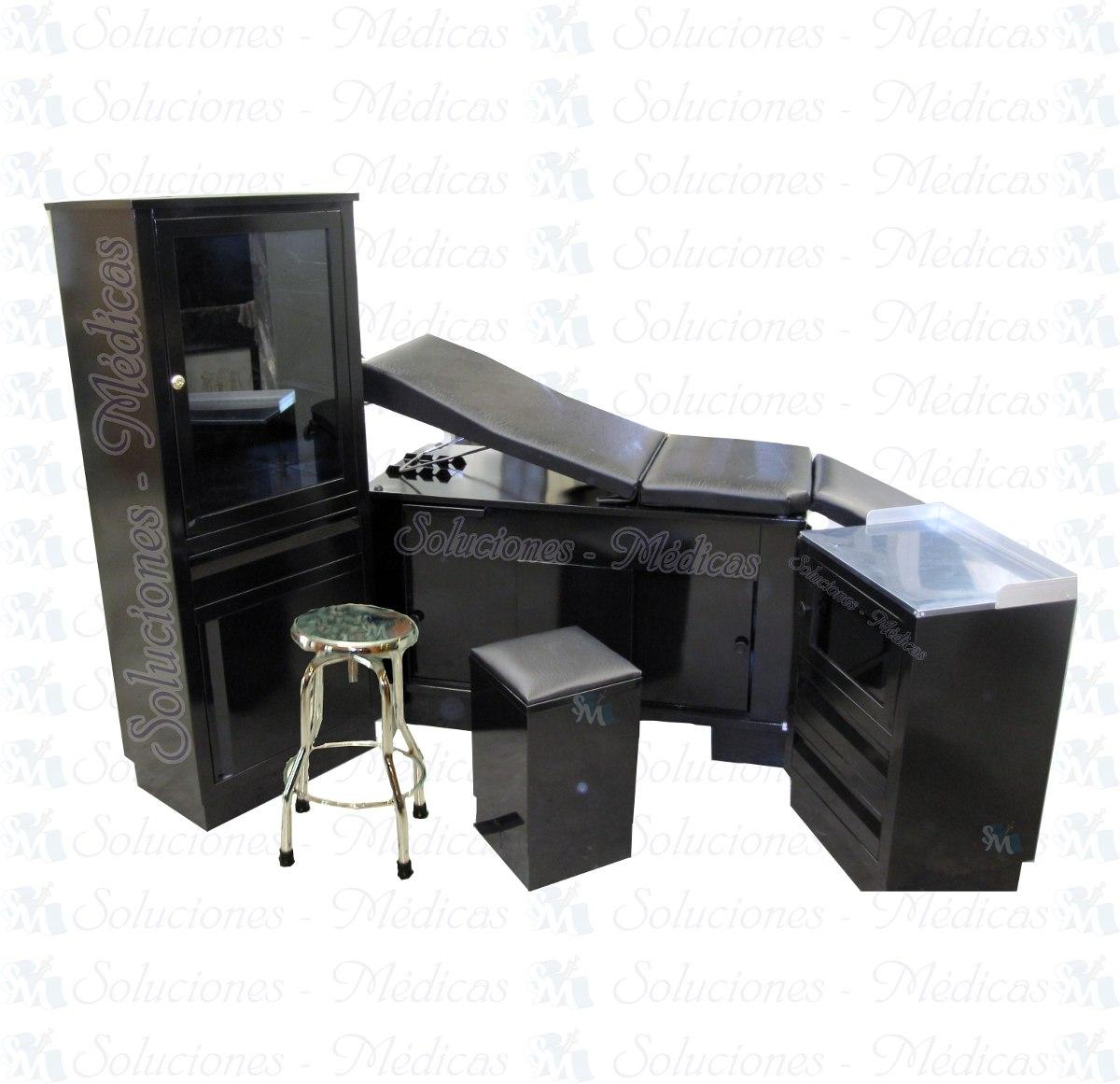 Muebles Para Consultorio Directo De Fabrica Negro Negro  # Muebles Medicos Maya
