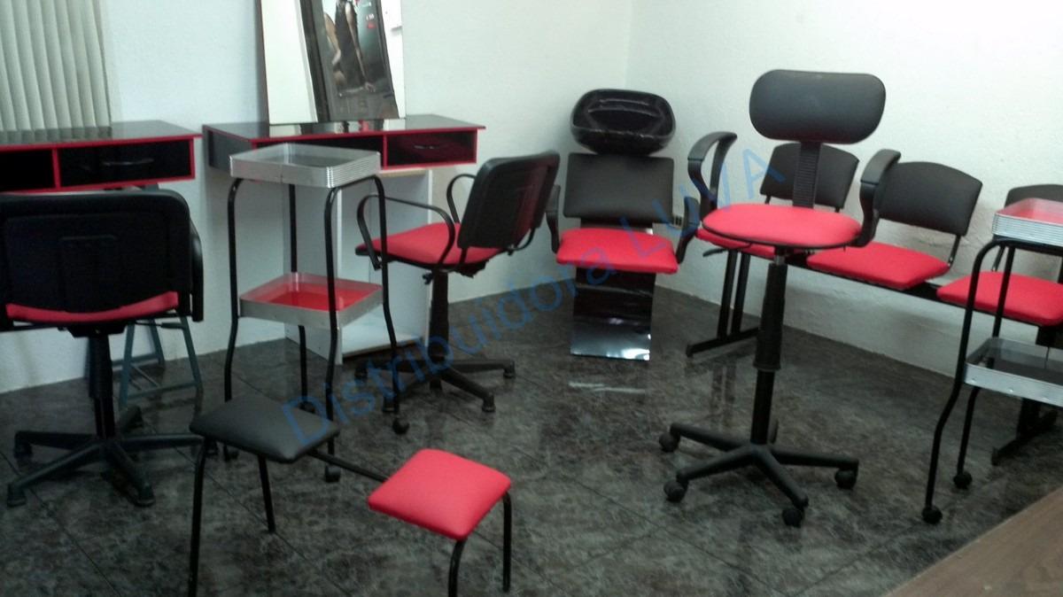 Muebles Para Esteticas 15 Pzas Estilistas Peluqueros 13 550 00  # Distribuidora Luva Muebles Para Estetica