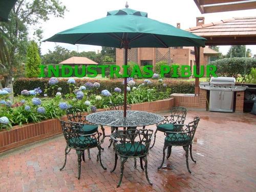 Parasoles para jardin toldo vela tringulo tipo sombrilla for Muebles para jardin exterior