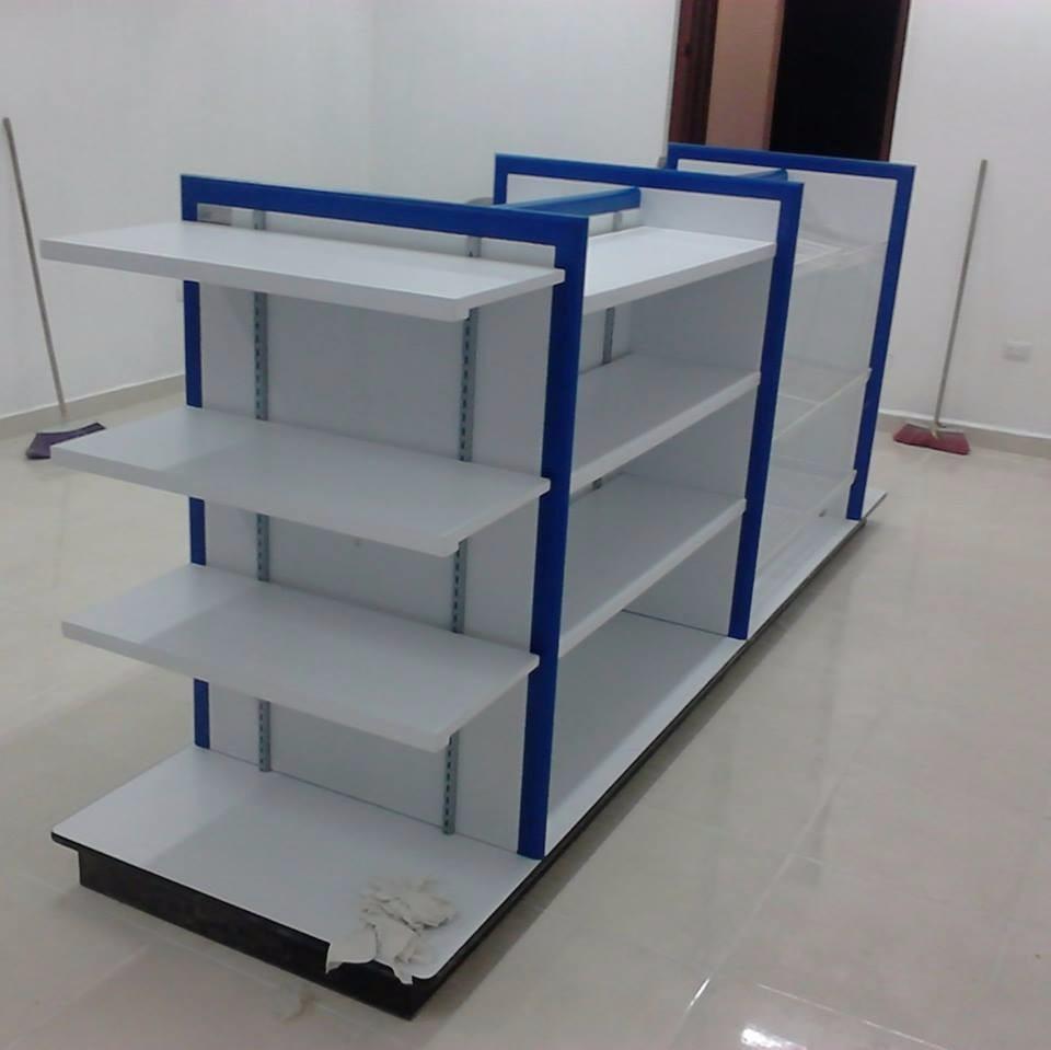 Muebles para farmacias tiendas joyer as tipo oxxo for Muebles para supermercado