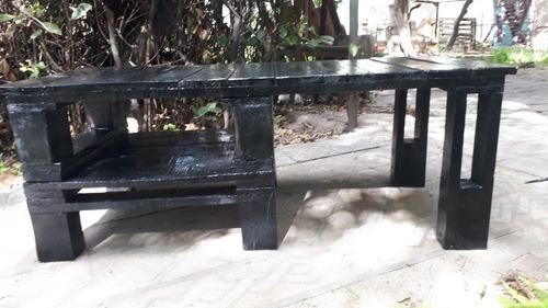 muebles para interior y exterior rústicos