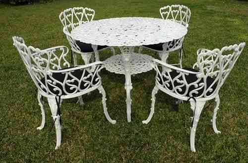 Muebles para jardin decoracion exterior en for Mesas y sillas de jardin baratas