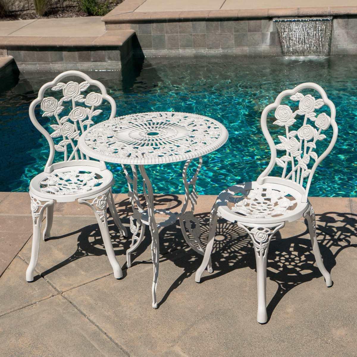 Muebles Para Jardin Terraza Balcon Exteriores Set Rosas